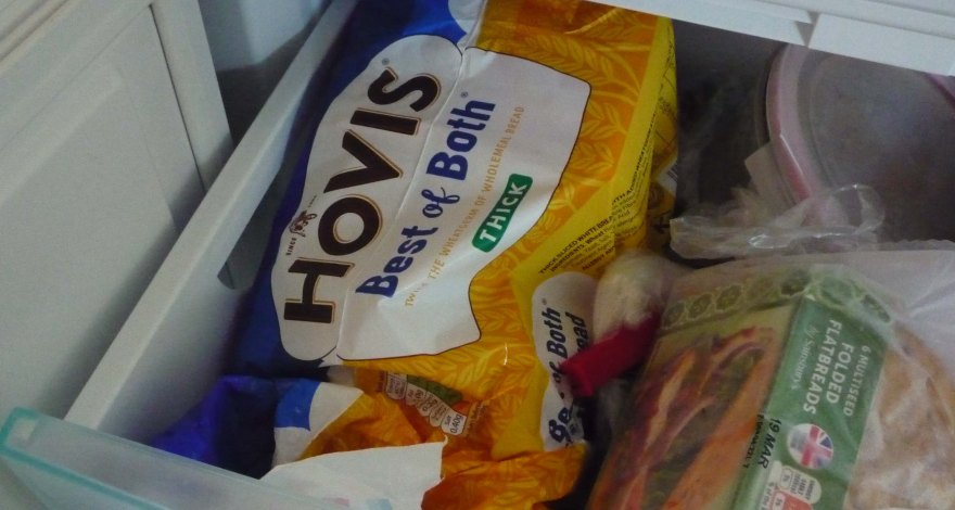 Proof we keep toast bread in the freezer