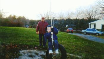 Owen and Grandpa