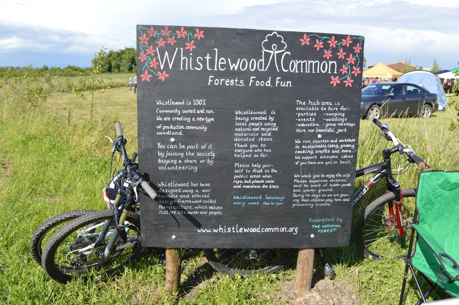 Whistlewood Common Sign