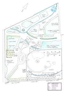 Whistlewood Common Site Map