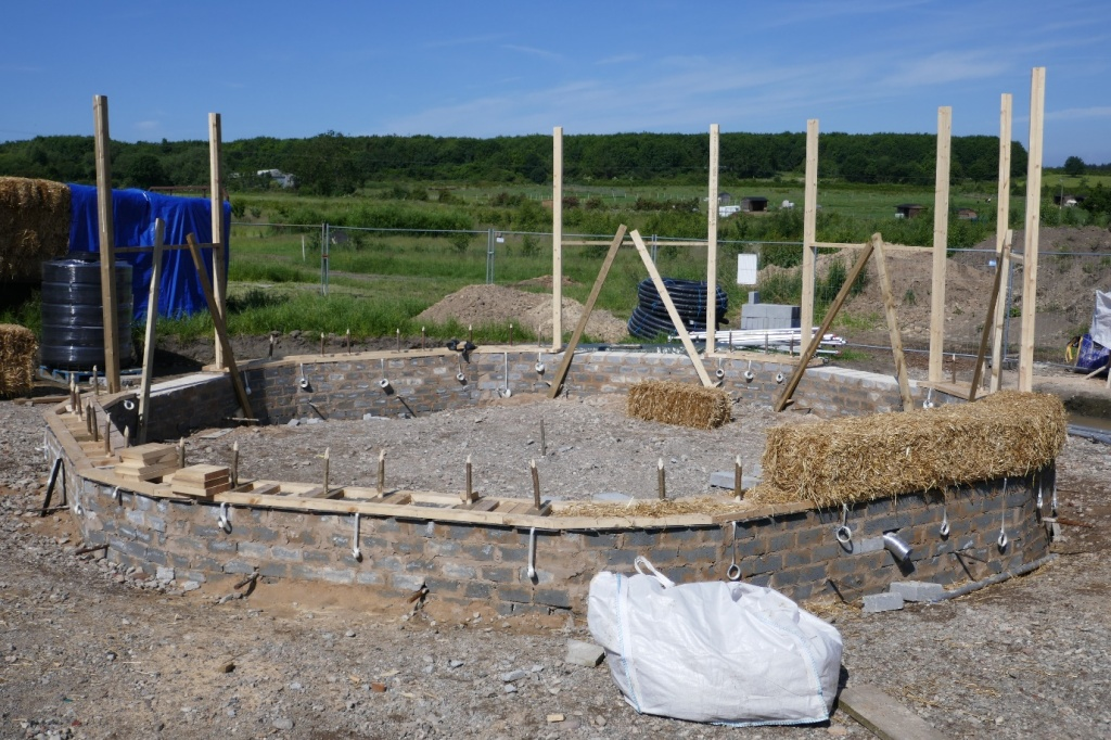 The whole site, before the walls go up