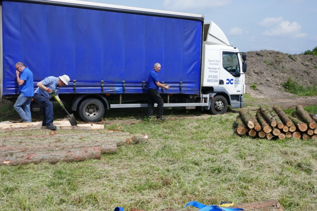 the larch has landed