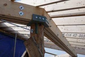 Walkway rafters