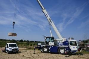 So big we needed a crane