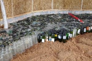Bottles provide insulation